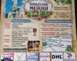 30º Fiesta Colheita w Colonia Murici