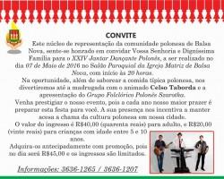XIV Jantar Dancante w Balsa Nova