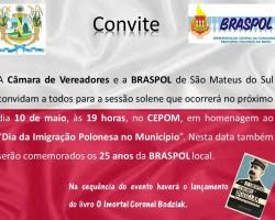 Braspol Sao Mateus do Sul Zaprasza na Uroczystą Sesję