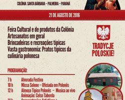 23 Festa Tipica Polonesa w Colonia Santa Barbara, Palmeira