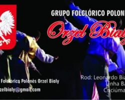 Agenda Grupy Folklorystycznej Orzeł Biały z Criciuma, SC