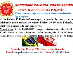 Kurs Języka Polskiego w Porto Alegre