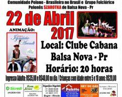 XXV Jantar Dancante w Balsa Nova