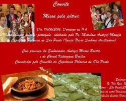 Kolejna Msza Święta w Sao Paulo z Udziałem Ambasadora RP