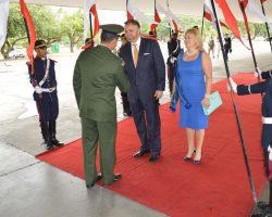 Pożegnanie Ambasadora oraz Konsul RP w Brazylii.