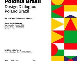 """Wystawa """"Dialogo Design Polonia Brasil"""" w Kurytybie"""