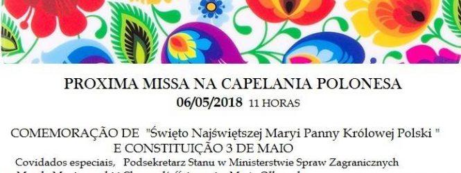 Msza z okazji 3 Maja w Sao Paulo z gośćmi specjalnymi